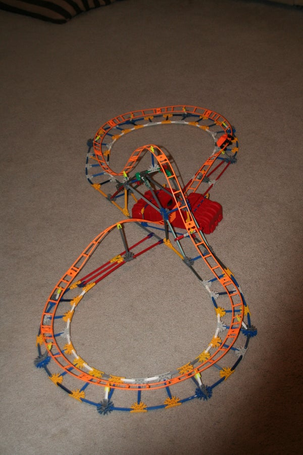 "K'nex Coaster ""Formula 1"""