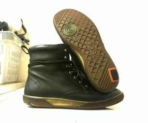 Patching Worn Soles