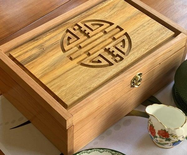 A Carved Tea Box