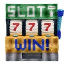 A Slot Machine Made From 34600pcs 5mm Magnetic Balls