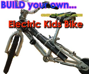 Electric Kids Bike
