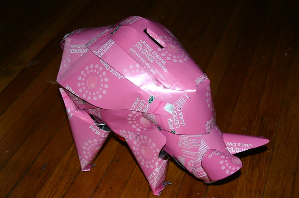 UPCYCLED PIGGY BANK