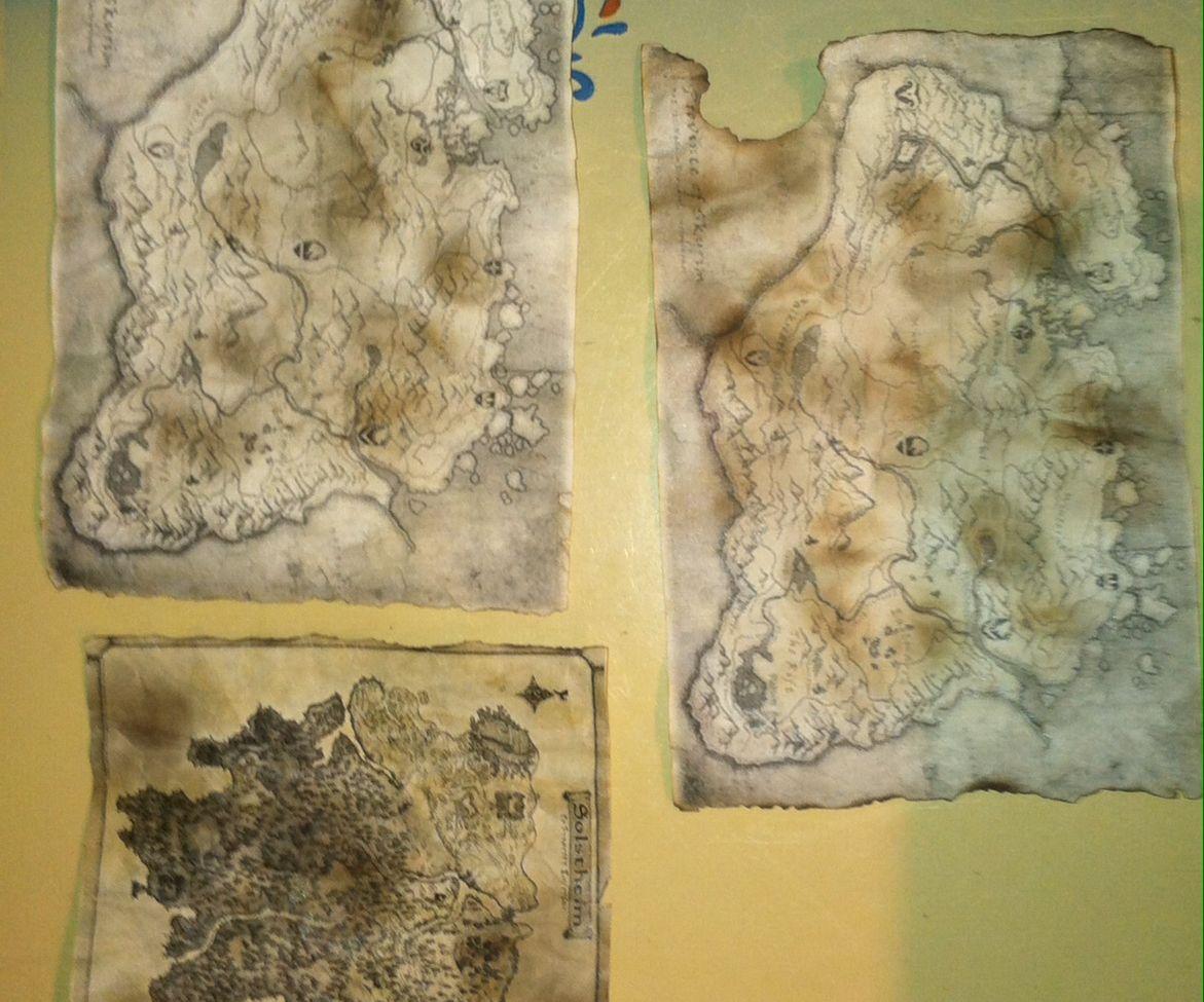 Aged Maps (Skyrim)