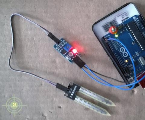 Smart Irrigation Project on Arduino