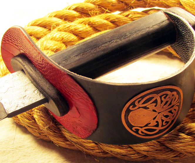 Hand Forged Cthulhu Cutlass