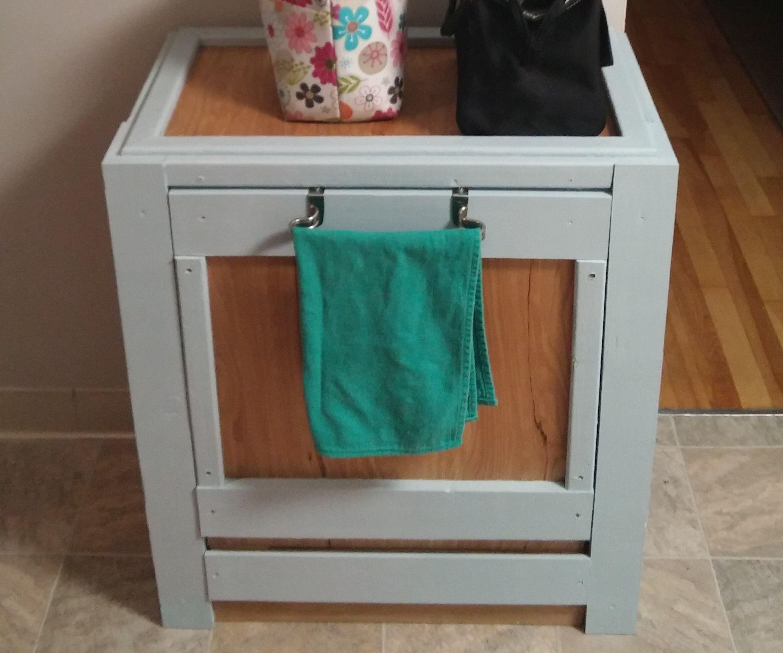 Tilt-out Trash Cabinet