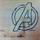 How to Whittle the Avengers Symbol