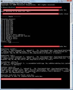 Writing and Compiling AVR Code