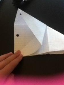 Begin Folding Bird Base