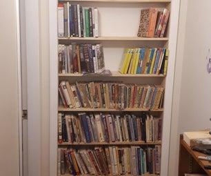 书架后面的秘密房间