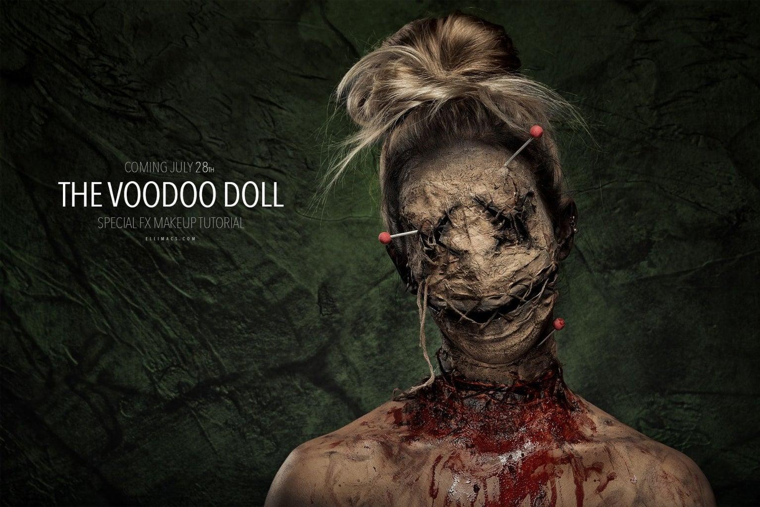Voodoo Doll SFX Makeup Tutorial