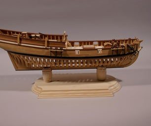 Build a Plank on Frame Model Ship