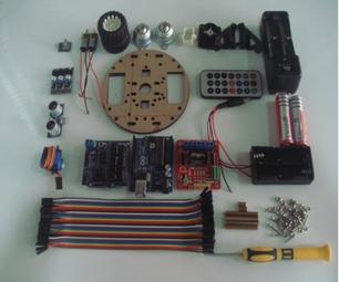 DIY Obstacle Avoidance and Ranging Robot for Arduino