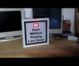 Annoying Last Xmas Picture Frame