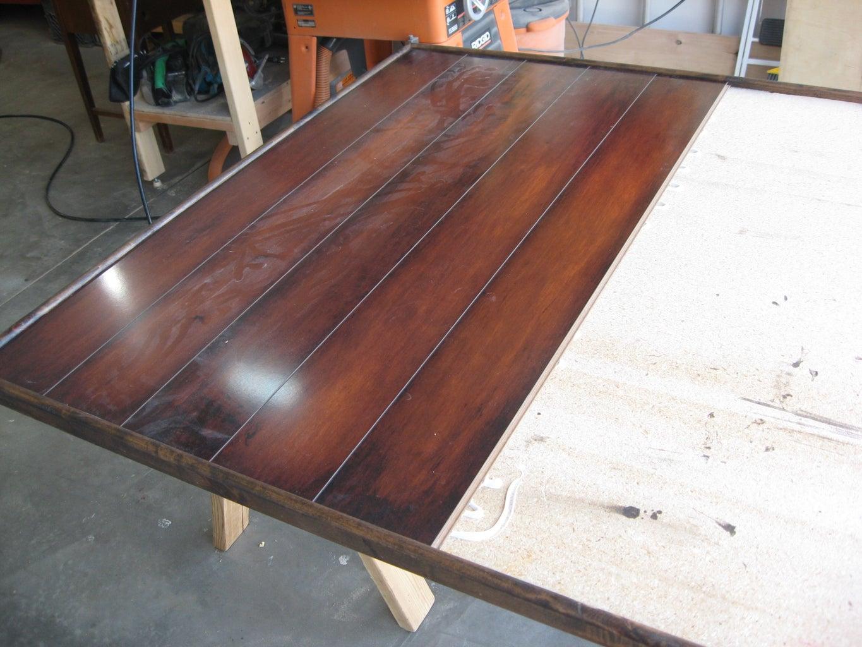 Install Flooring Pieces