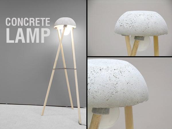 Concrete Lamp - DIY