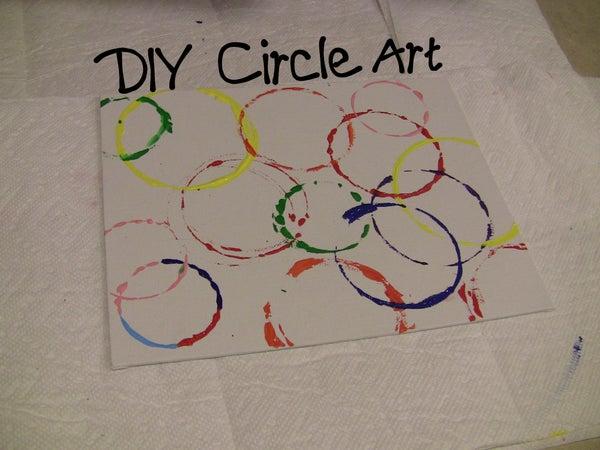 DIY Circle Art
