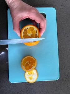 Orange As Garnish