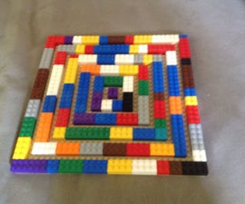 How to Make a Lego Spiral