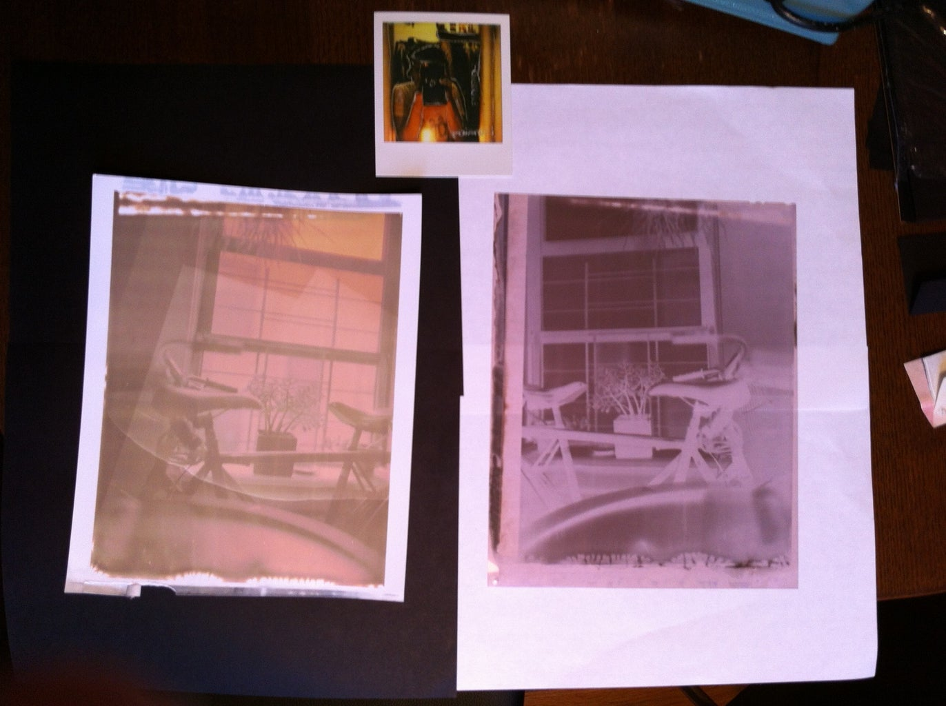 Making Instant Film at Home ( Polaroid 55 )