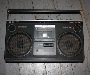 Give a Broken Boombox a New Lease of Life