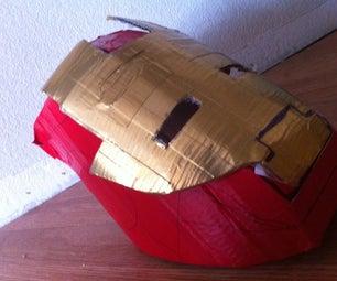 Duck Tape Iron Man Helment