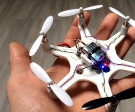 3D PRINTING MINI DRONE 6 AXIS