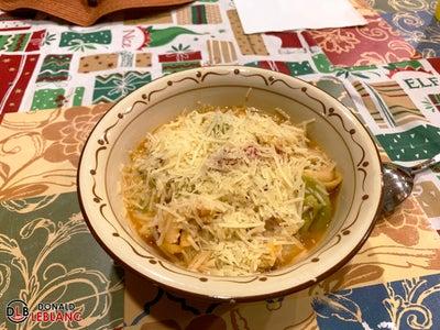 Step 7 - Serve With Shredded Parmesan & Pesto
