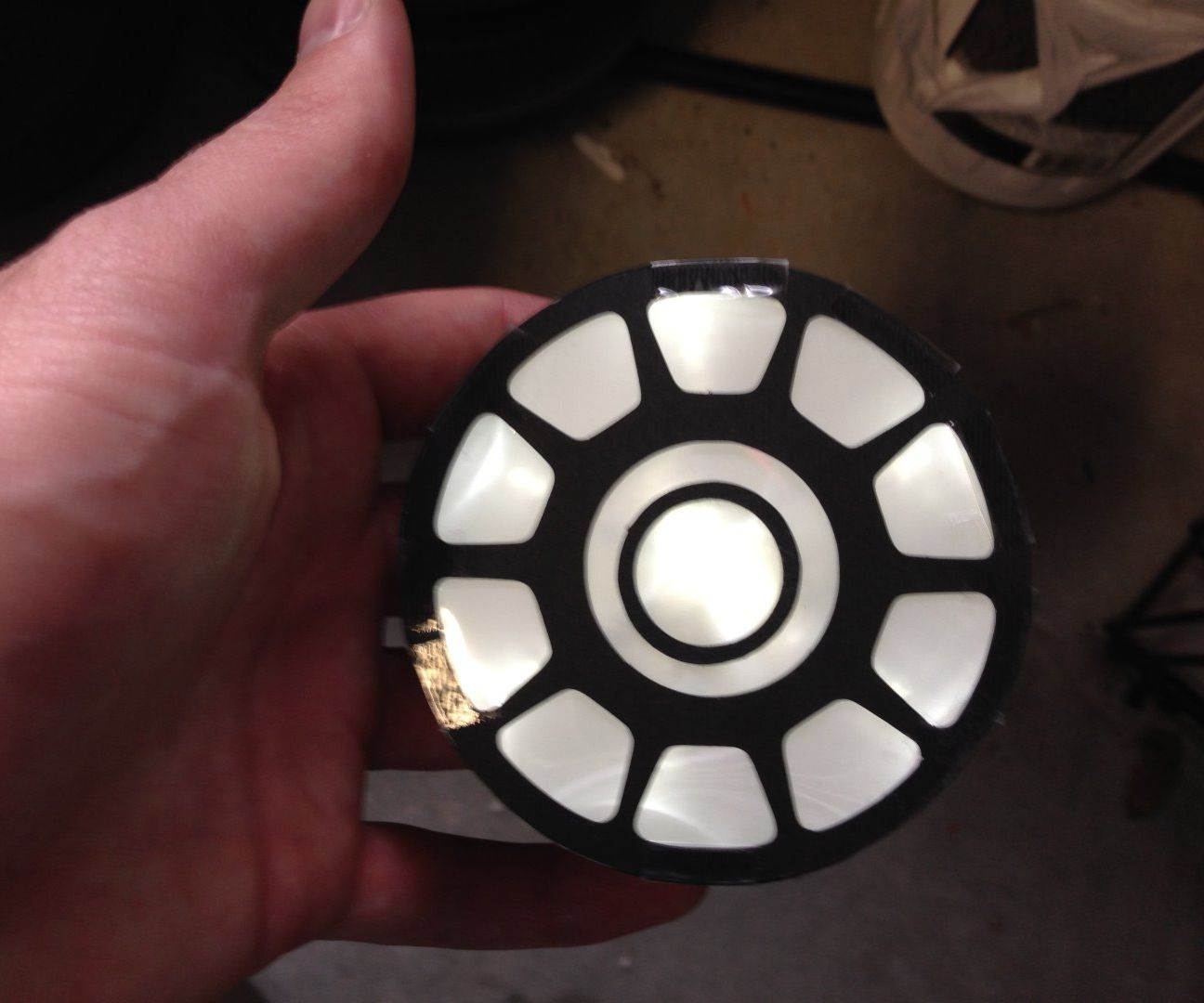 Poor Man's Arc Reactor Costume