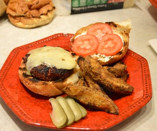 No Fry French Fried Jo-Jo Potato's Done on the Grill