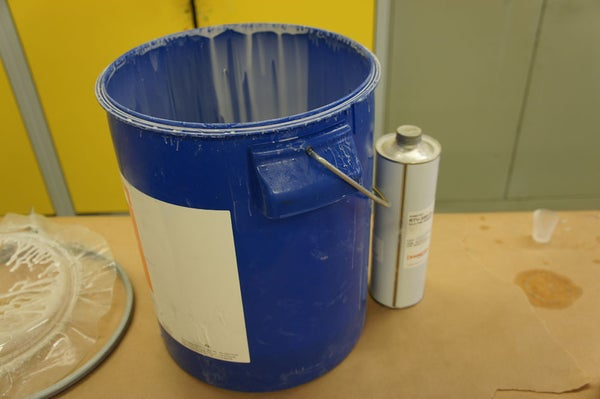 Mix the Silicone Rubber
