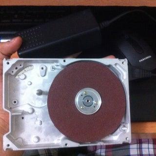 DIY Grinding Machine by HDD(hard Drive)