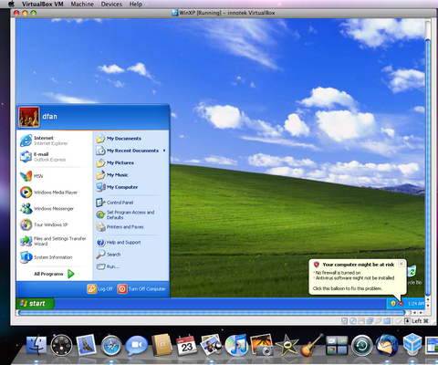 Multiple Virtual Desktop Testing Environment