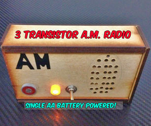 制作1.5V AM收音机!