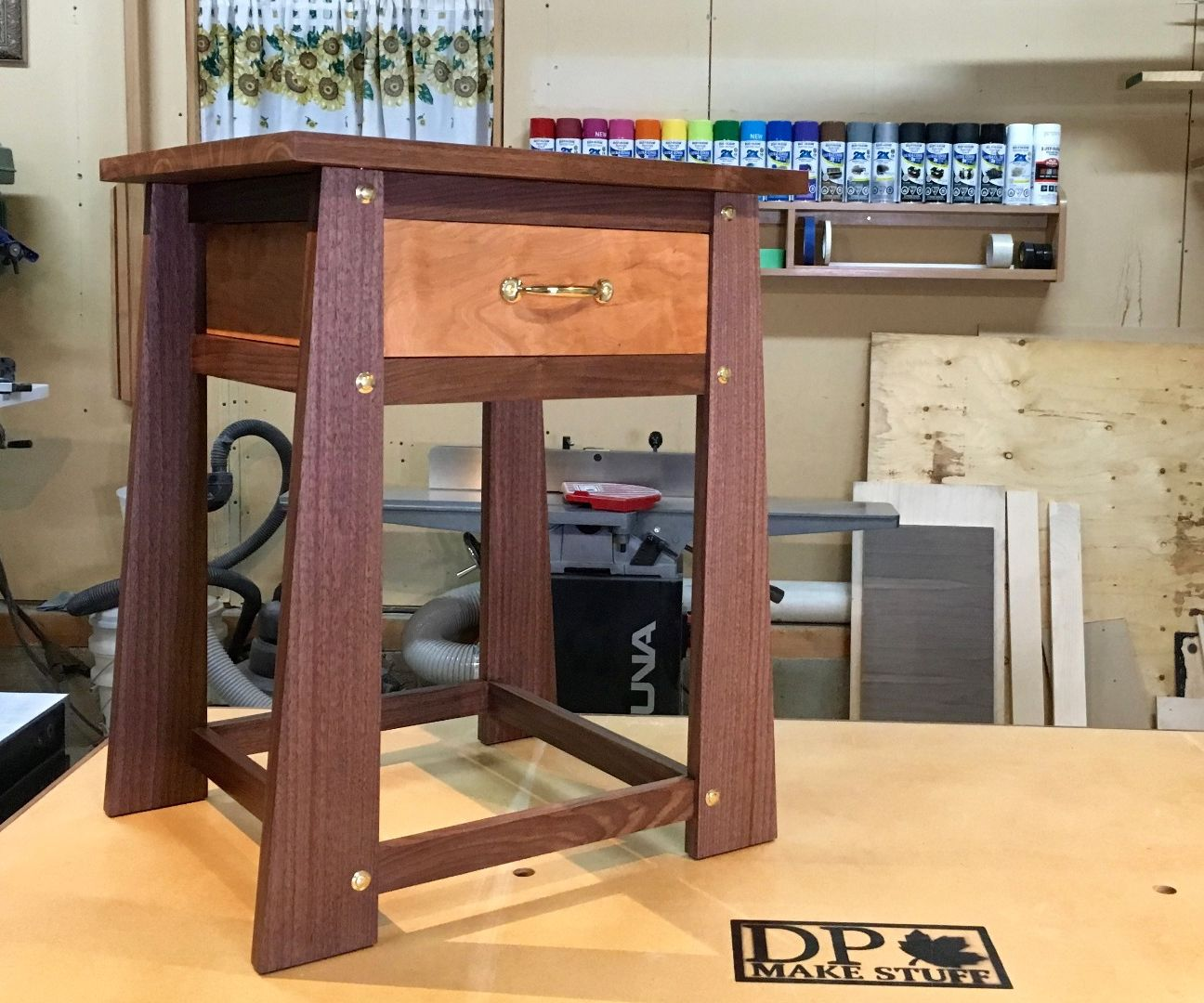Secret Compartment Table for My Nines
