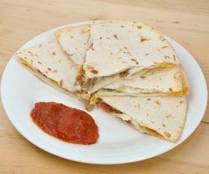 Pizzadillas - Perfect Pizza Quesadilla for Super Bowl