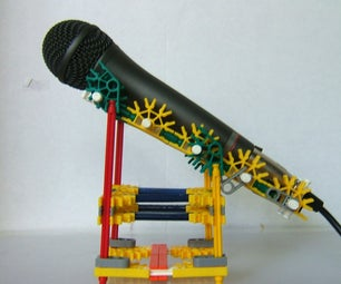 Knex Microphone Stand.