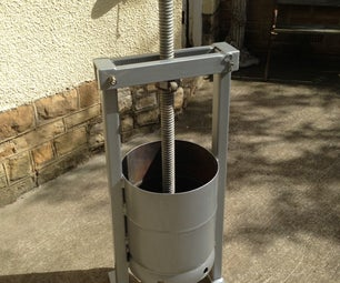 Gas Cylinder to Fruit Press