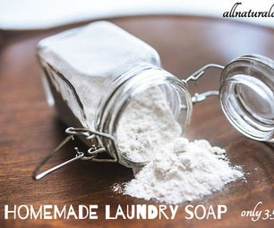 Homemade Laundry Soap - Only 3.5 Cents Per Load!