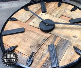 How to Build a Wall Clock Using Only Recycled Materials