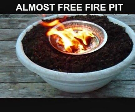 Almost Free DIY Fire Pit