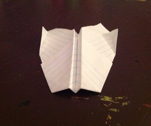 Scarab 1.0 Paper Airplane