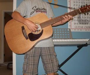 How to Attach a Fast, Cheap Guitar Strap