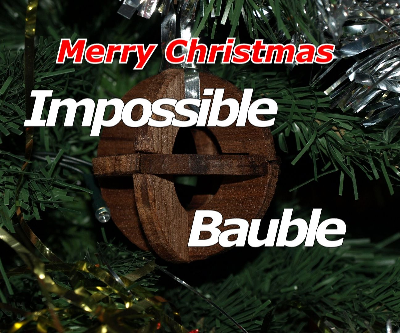 Impossible Christmas Bauble