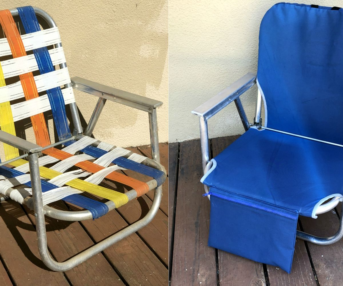 Sew A Beach Chair Cover 5 Steps With Pictures Instructables