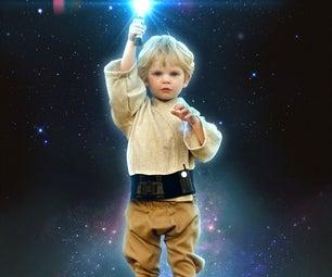 Luke Skywalker and Darth Vader (Kid-friendly)