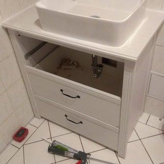 Make a Bathroom Vanity Out of an Old Dresser