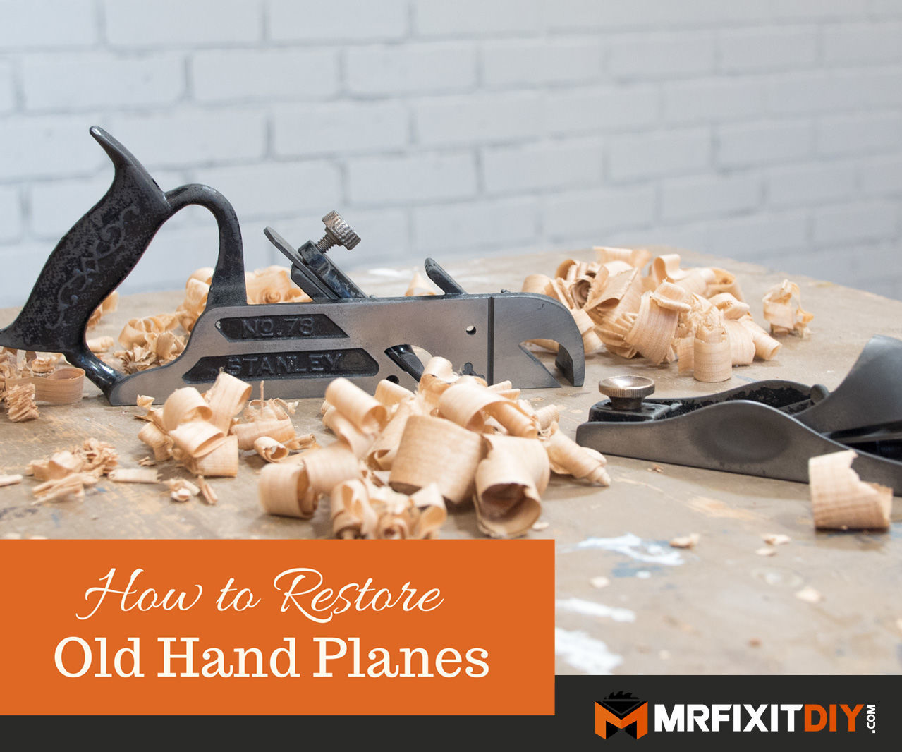 How to Restore Old Hand Planes