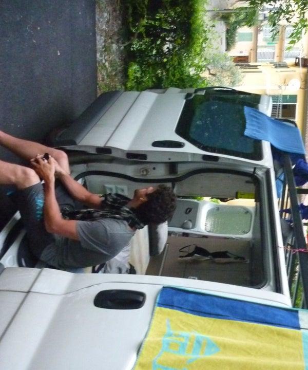 Van Conversion to Small Camper