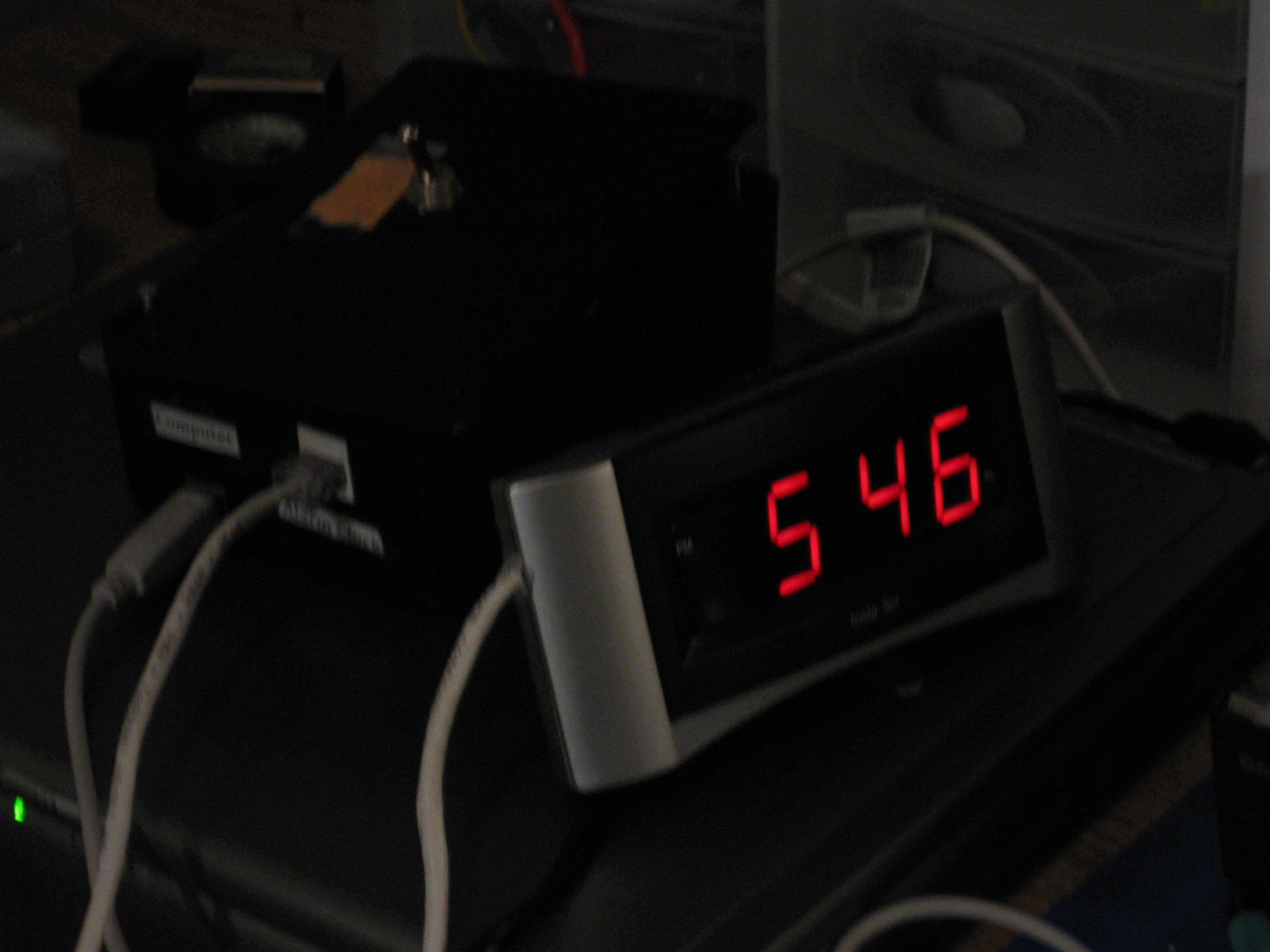 Snow Clock (Arduino Based)